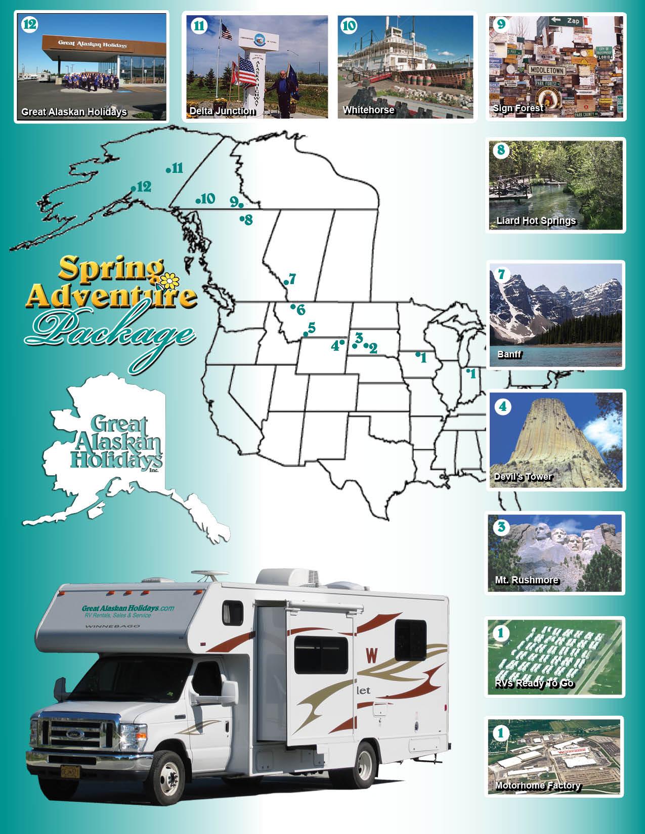 Spring Adventure Package | Great Alaskan Holidays – RV