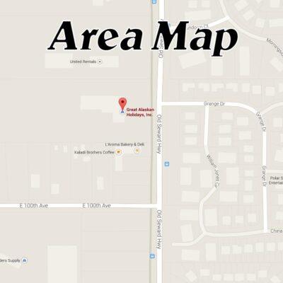 Old Seward Highway Area Map