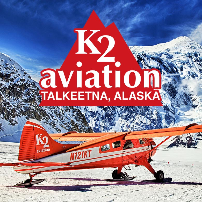 K2 Aviation Glacier Landing
