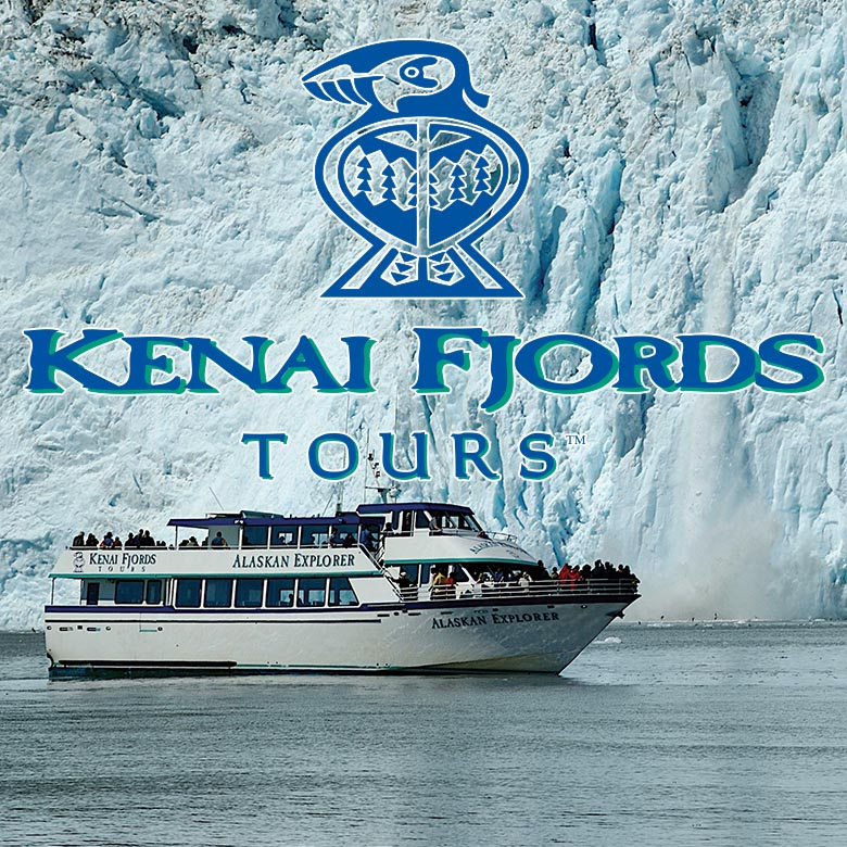 Kenai Fjords Tour at Alaskan Glacier