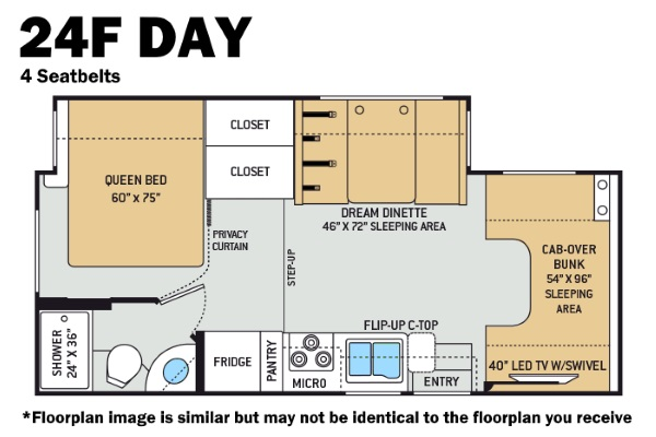 Thor 24F Day Floorplan