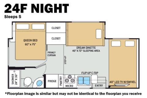 Thor 24F Night Floorplan