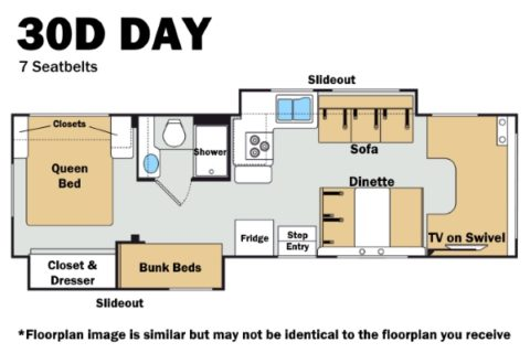 Thor 30D Day Floorplan