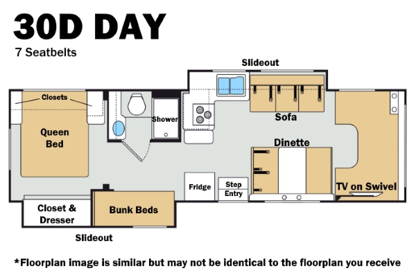 Thor 30D Day Floorplan